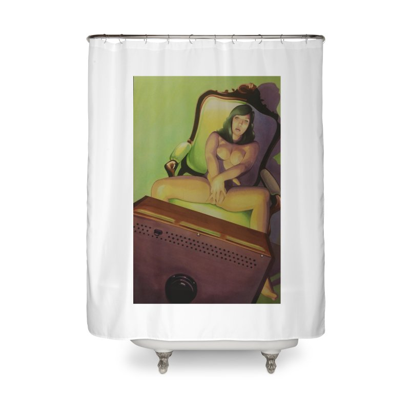 Queen of Angels #17 Home Shower Curtain by Daphnes Fantasies Merchandise