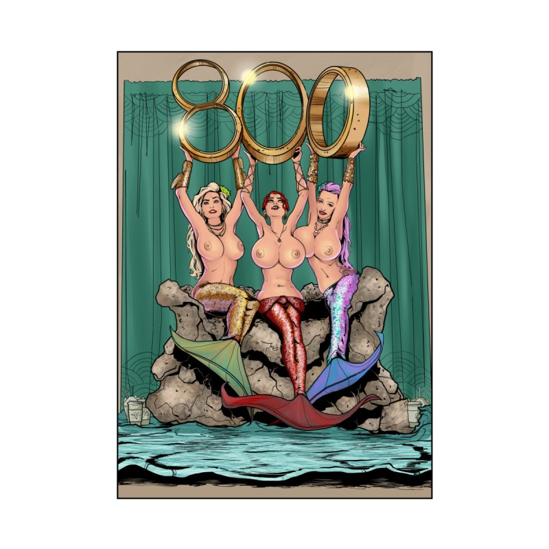 Saint James Infirmary Issue 800 Home Fine Art Print by Daphnes Fantasies Merchandise