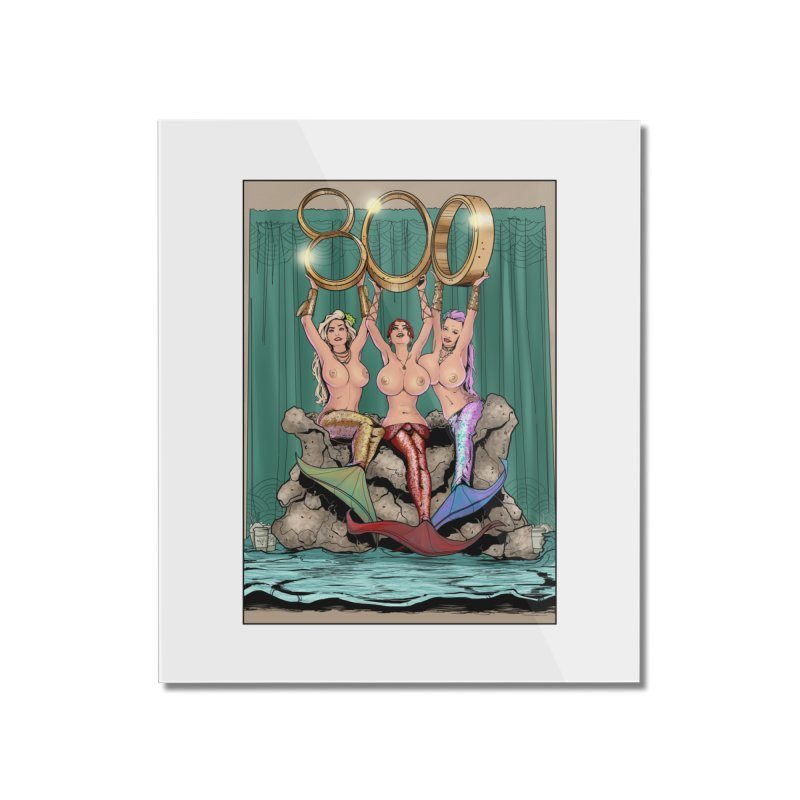Saint James Infirmary Issue 800 Home Mounted Acrylic Print by Daphnes Fantasies Merchandise