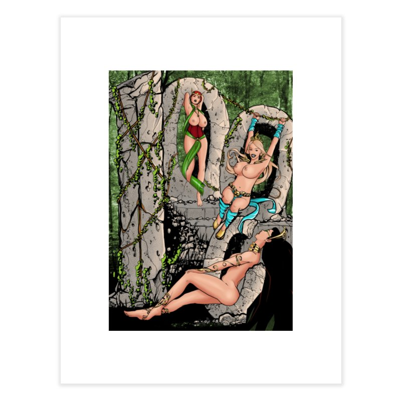 Saint James Infirmary #1000 Home Fine Art Print by Daphnes Fantasies Merchandise