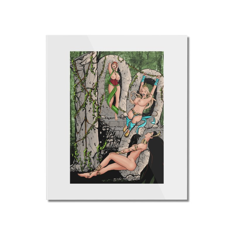 Saint James Infirmary #1000 Home Mounted Acrylic Print by Daphnes Fantasies Merchandise