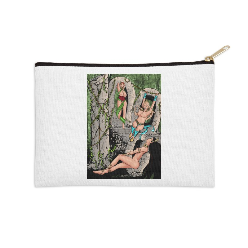 Saint James Infirmary #1000 Accessories Zip Pouch by Daphnes Fantasies Merchandise