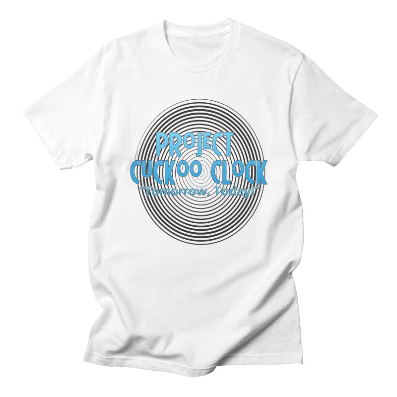 Project Cuckoo Clock Men's T-Shirt by Daphnes Fantasies Merchandise