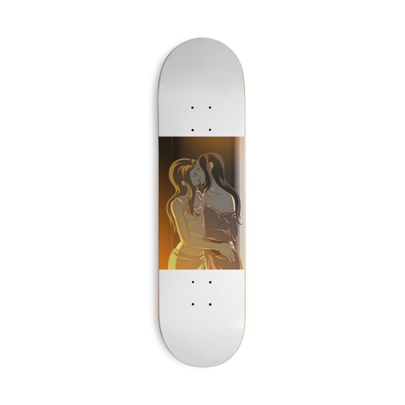 Enchanted Summer #13 Cover Accessories Skateboard by Daphnes Fantasies Merchandise