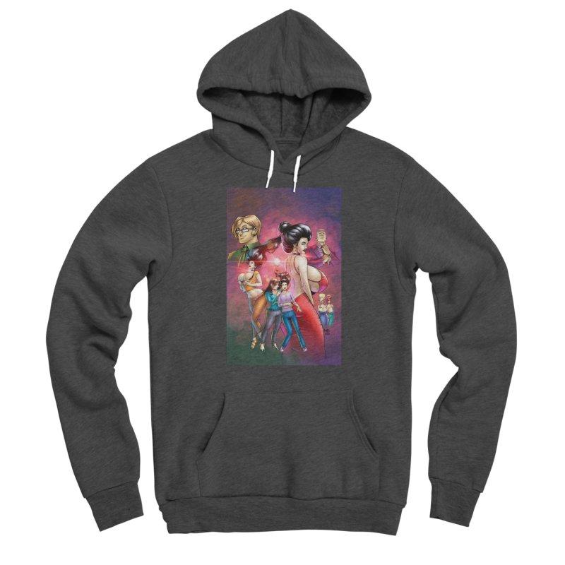 Beyond Rubies Omnibus Cover Men's Pullover Hoody by Daphnes Fantasies Merchandise