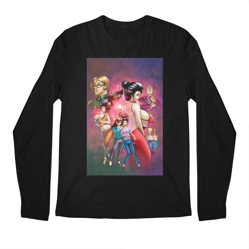 Beyond Rubies Omnibus Cover Men's Longsleeve T-Shirt by Daphnes Fantasies Merchandise