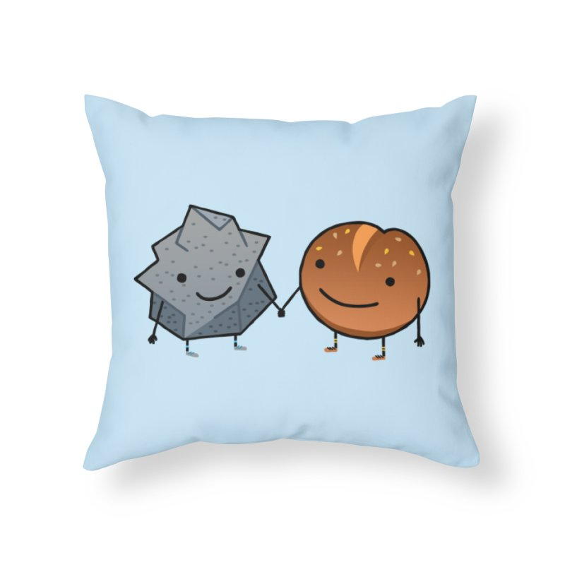 Rock & Roll Home Throw Pillow by dgeph's artist shop