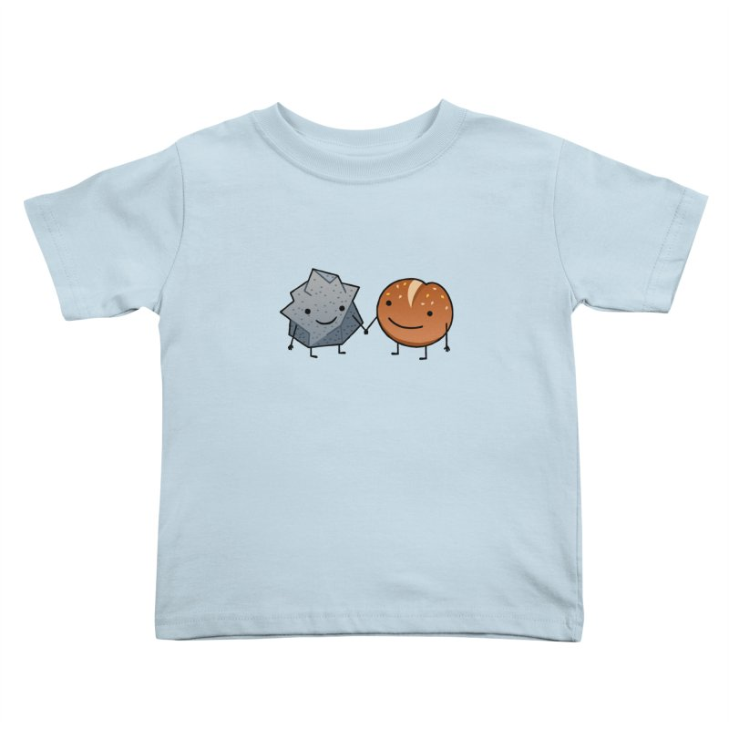 Rock & Roll in Kids Toddler T-Shirt Baby Blue by dgeph's artist shop