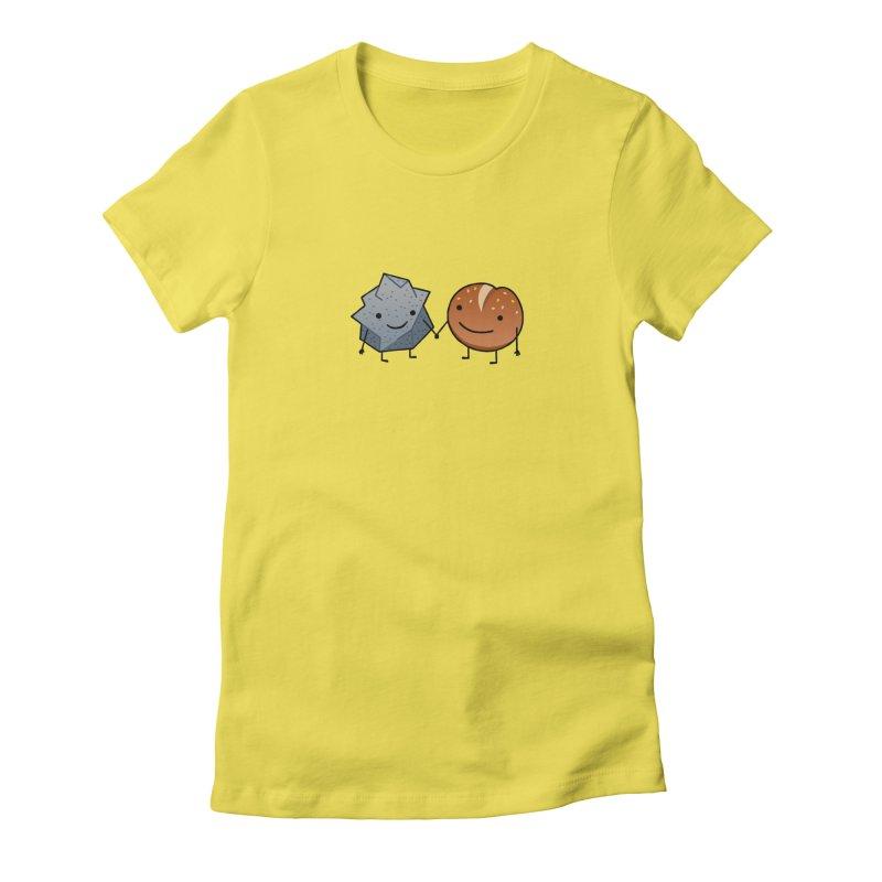 Rock & Roll Women's Fitted T-Shirt by dgeph's artist shop