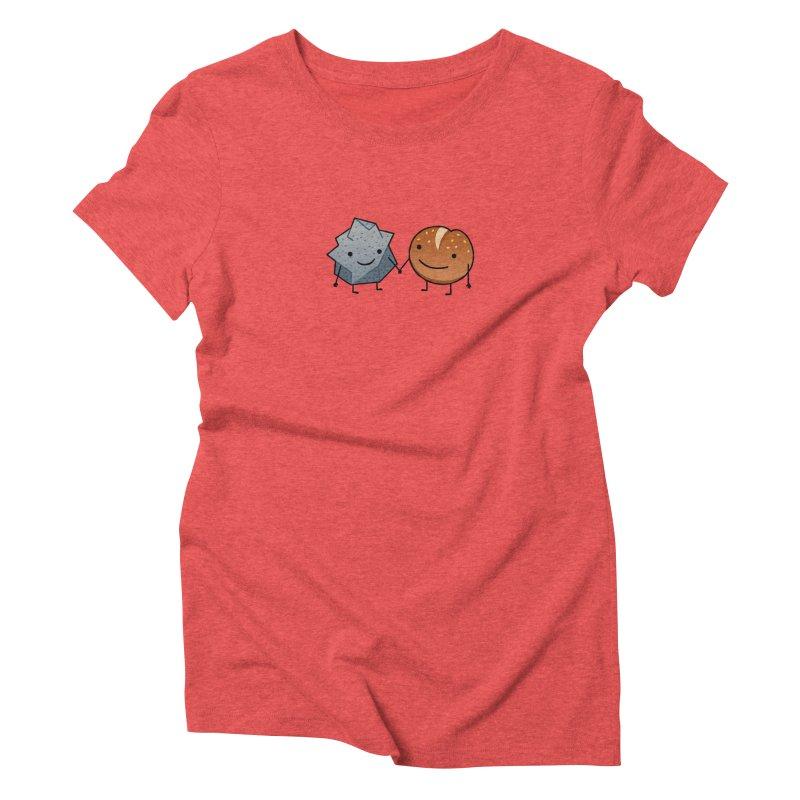 Rock & Roll Women's Triblend T-Shirt by dgeph's artist shop