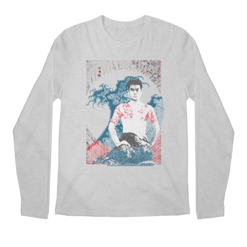 Samurai/Great Wave Men's Longsleeve T-Shirt by dgeph's artist shop
