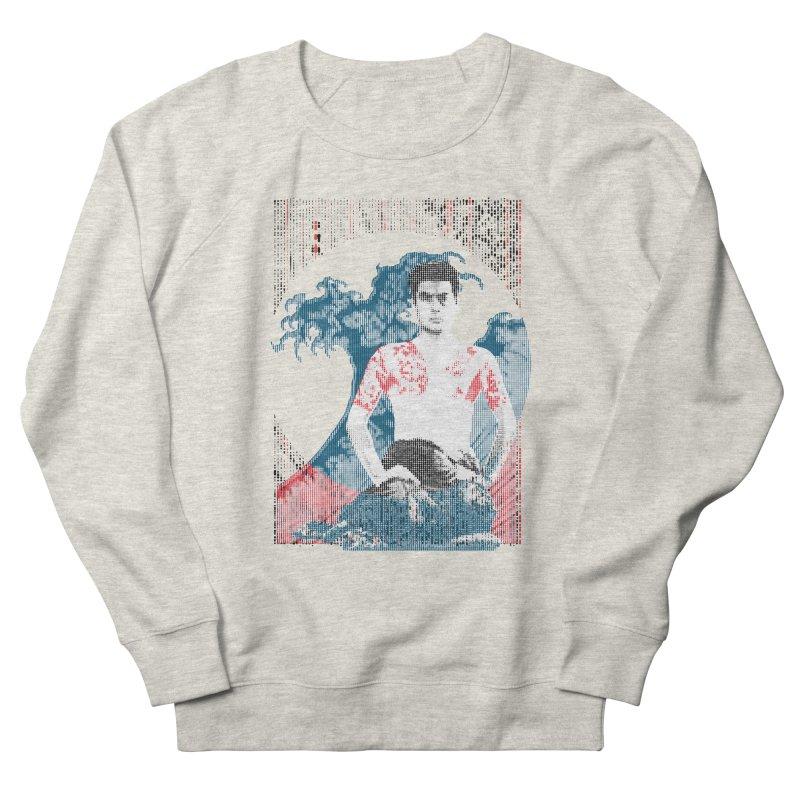 Samurai/Great Wave Men's Sweatshirt by dgeph's artist shop