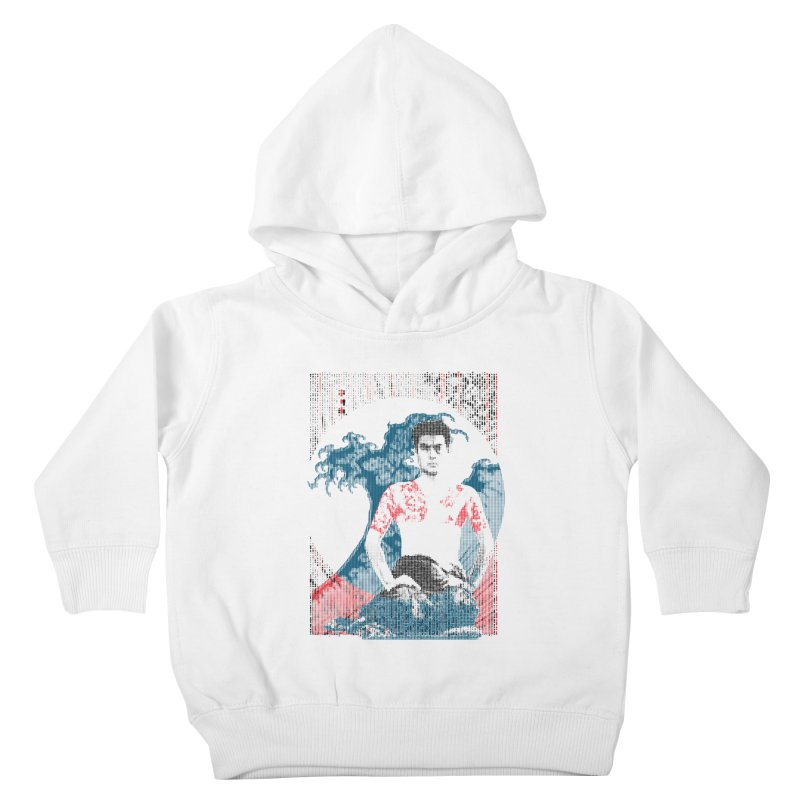 Samurai/Great Wave Kids Toddler Pullover Hoody by dgeph's artist shop