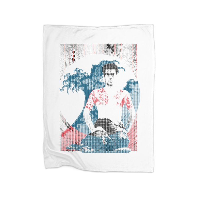 Samurai/Great Wave Home Blanket by dgeph's artist shop