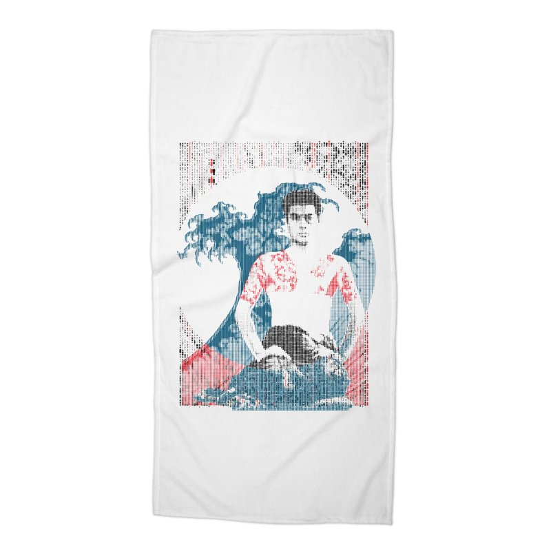 Samurai/Great Wave Accessories Beach Towel by dgeph's artist shop