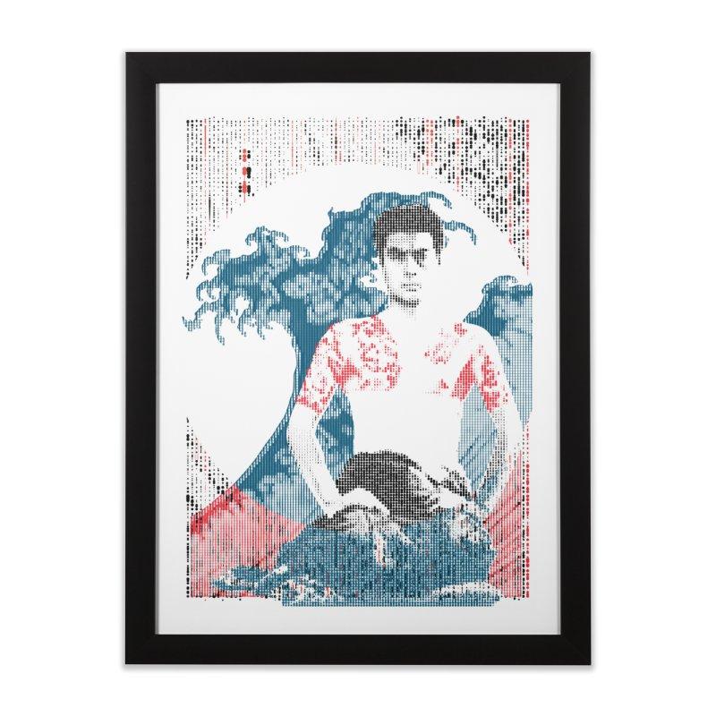 Samurai/Great Wave Home Framed Fine Art Print by dgeph's artist shop