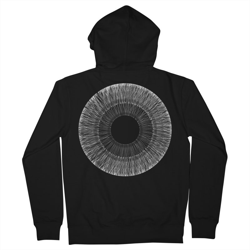 Iris Men's Zip-Up Hoody by dgeph's artist shop
