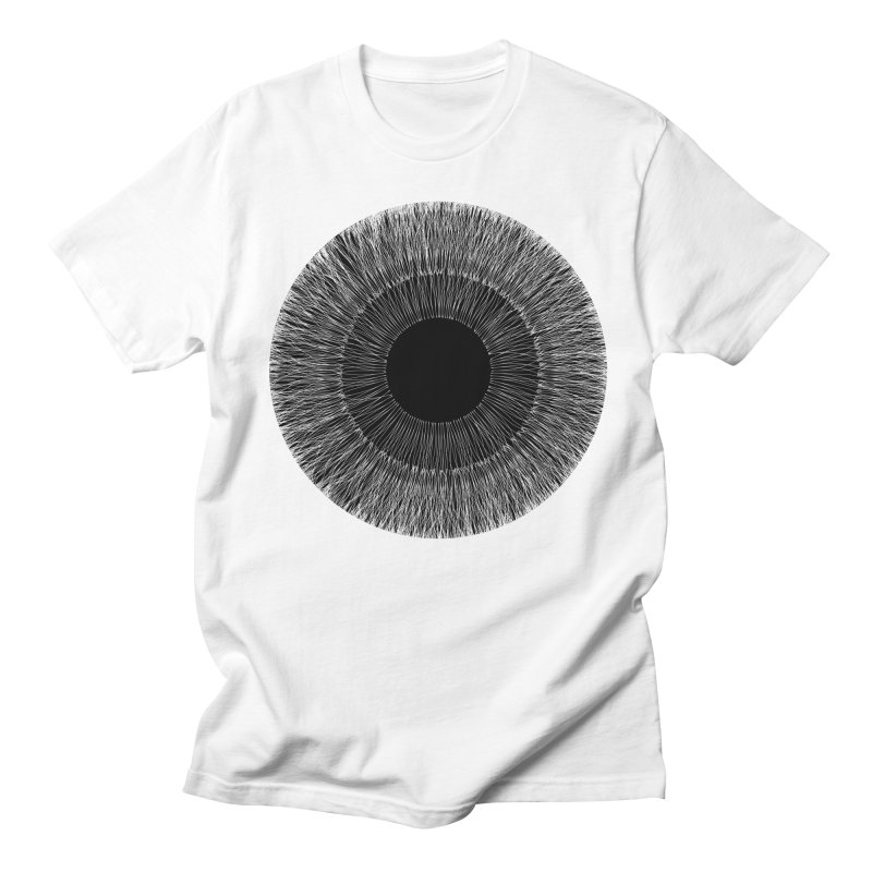 Iris in Men's T-Shirt White by dgeph's artist shop