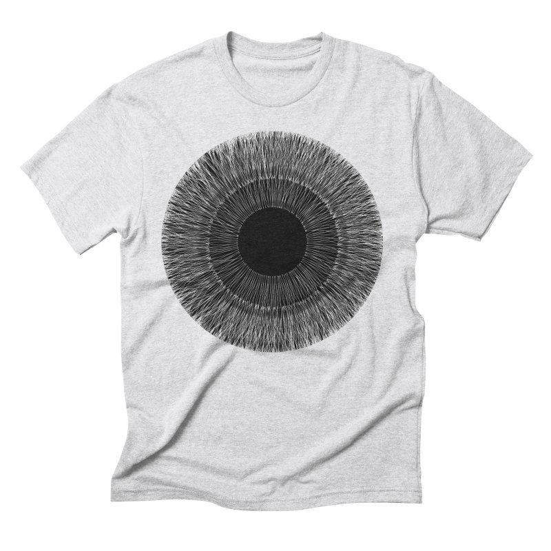 Iris Men's Triblend T-Shirt by dgeph's artist shop