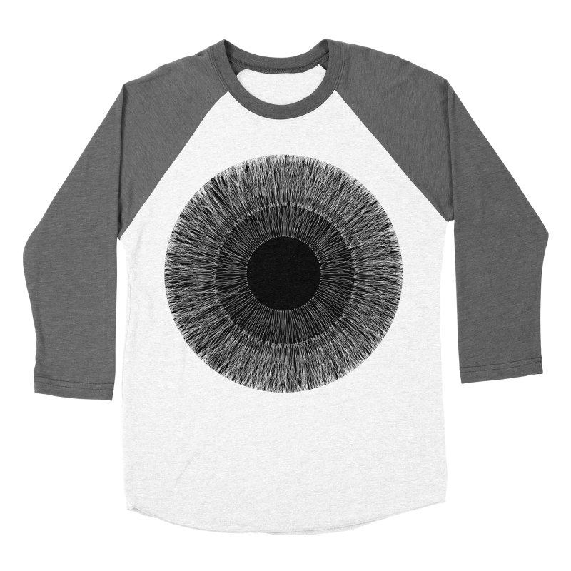 Iris Women's Baseball Triblend T-Shirt by dgeph's artist shop