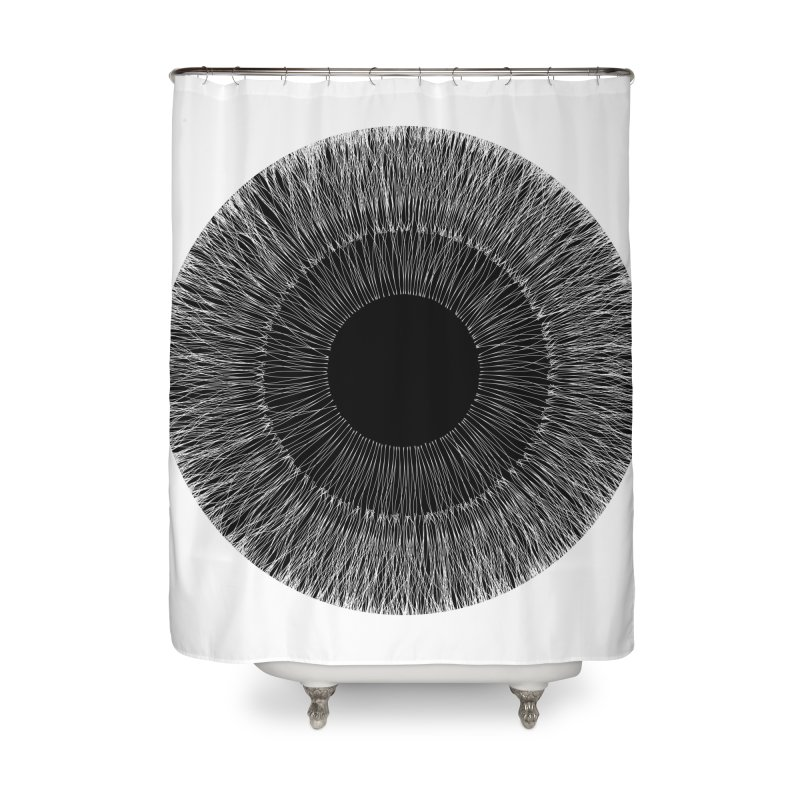 Iris Home Shower Curtain by dgeph's artist shop