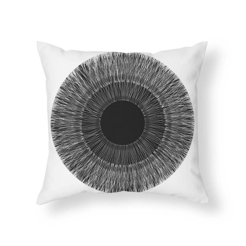 Iris Home Throw Pillow by dgeph's artist shop