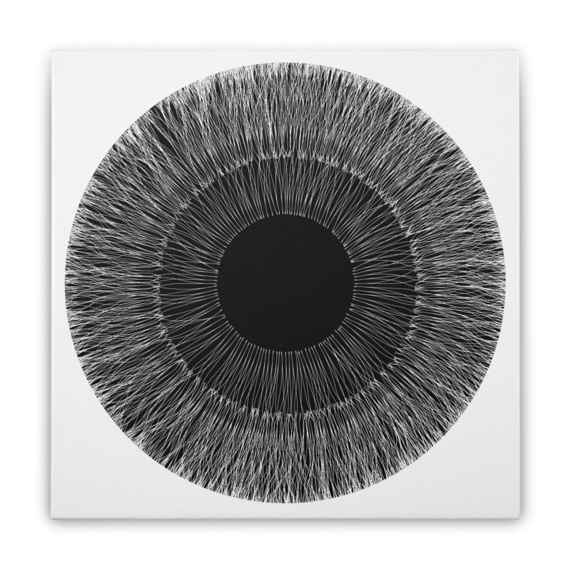 Iris Home Stretched Canvas by dgeph's artist shop