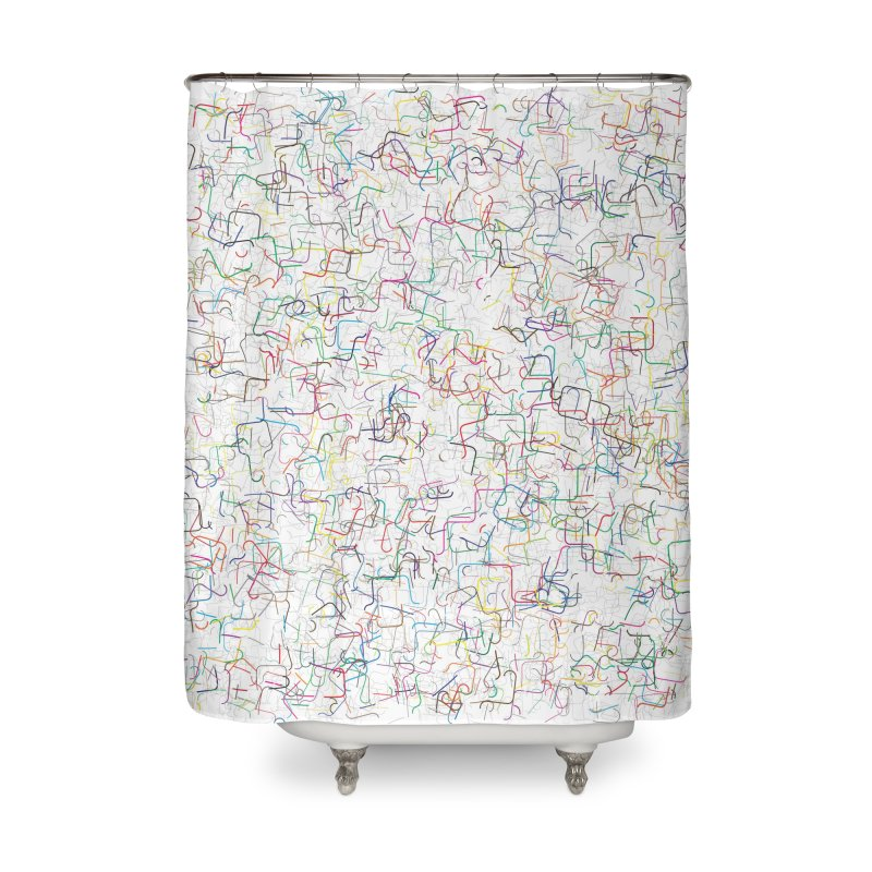Chairy Pie Home Shower Curtain by dgeph's artist shop