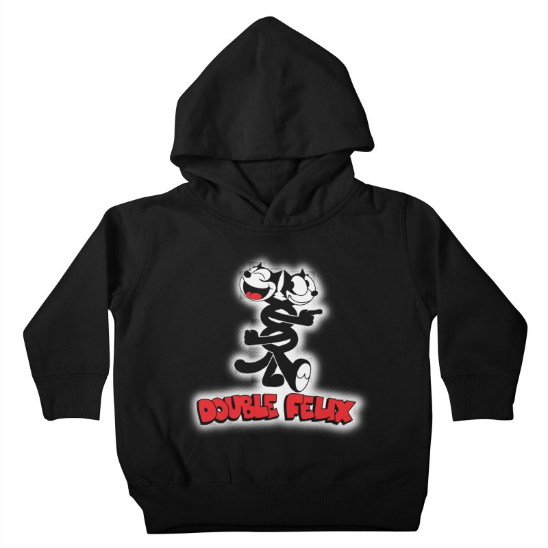 Double Felix Kids Toddler Pullover Hoody by dgeph's artist shop