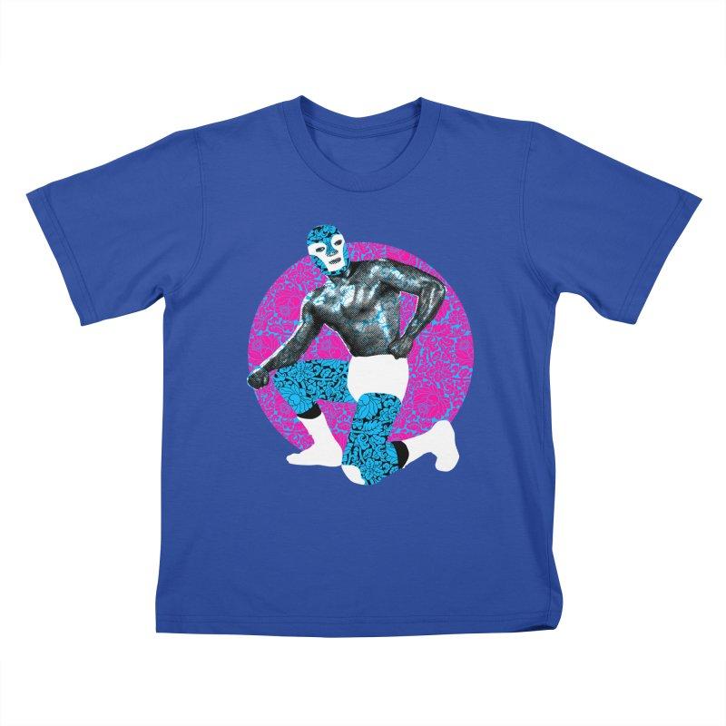Luchador 2 Kids T-shirt by dgeph's artist shop