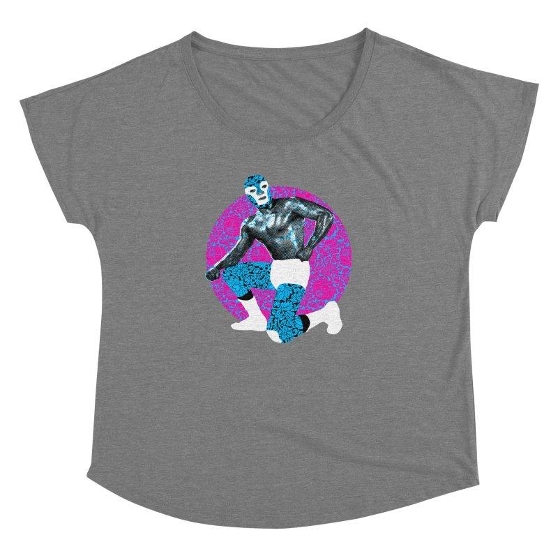 Luchador 2 Women's Dolman by dgeph's artist shop