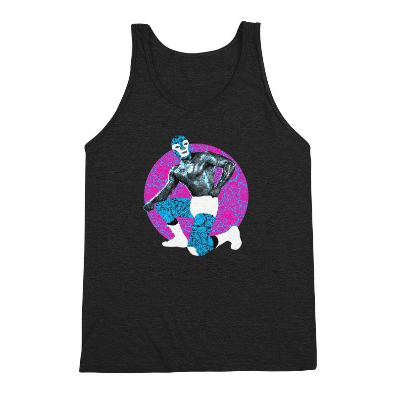 Luchador 2 Men's Triblend Tank by dgeph's artist shop