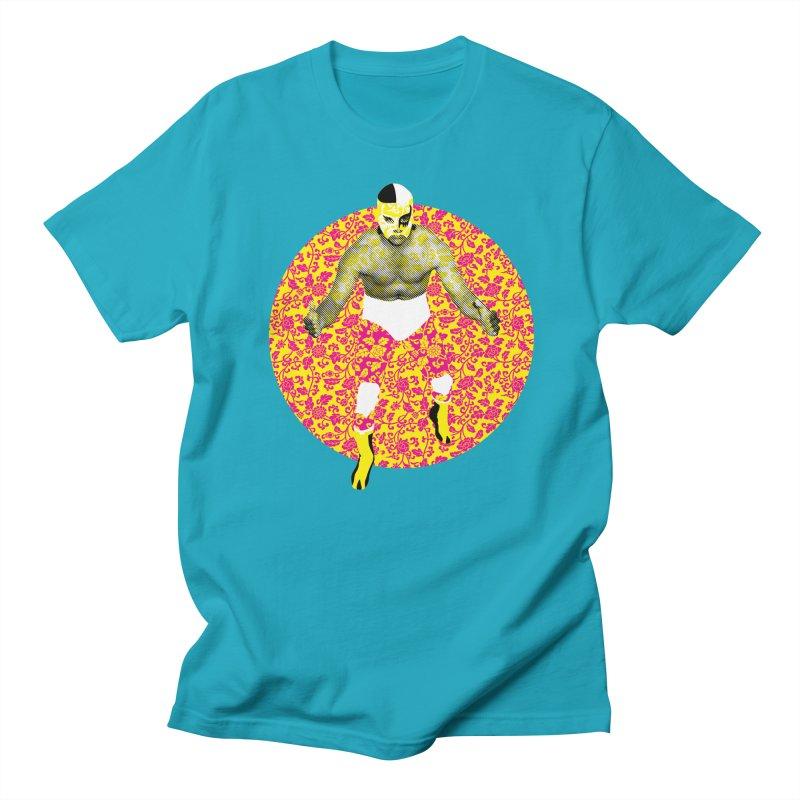 Luchador 1 Men's T-shirt by dgeph's artist shop