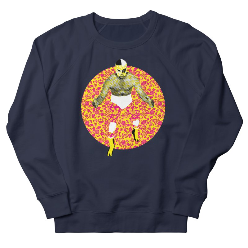 Luchador 1 Women's Sweatshirt by dgeph's artist shop