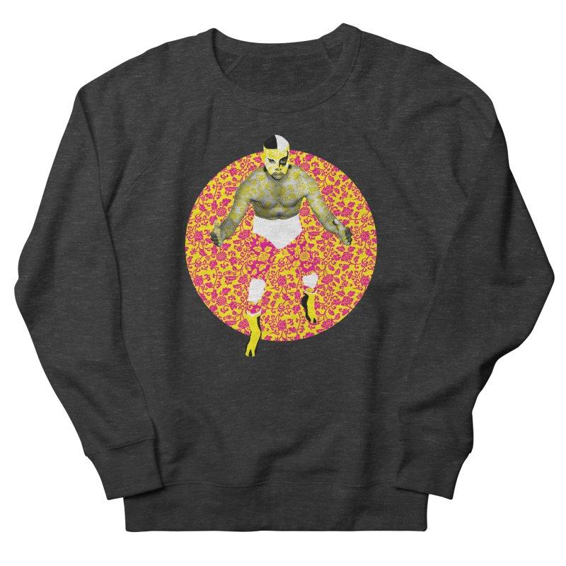 Luchador 1 Men's Sweatshirt by dgeph's artist shop