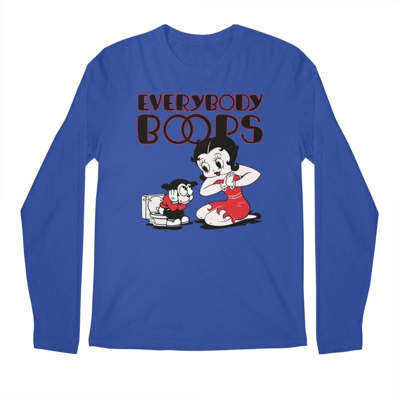 Everybody Boops 1 Men's Longsleeve T-Shirt by dgeph's artist shop