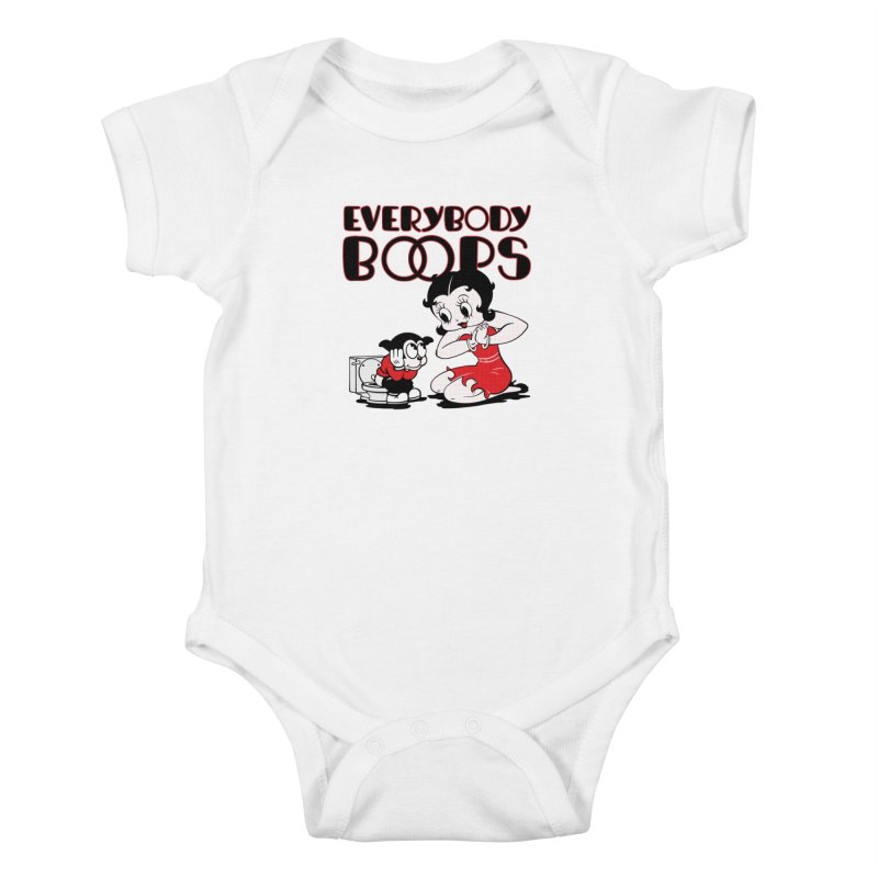 Everybody Boops 1 Kids Baby Bodysuit by dgeph's artist shop