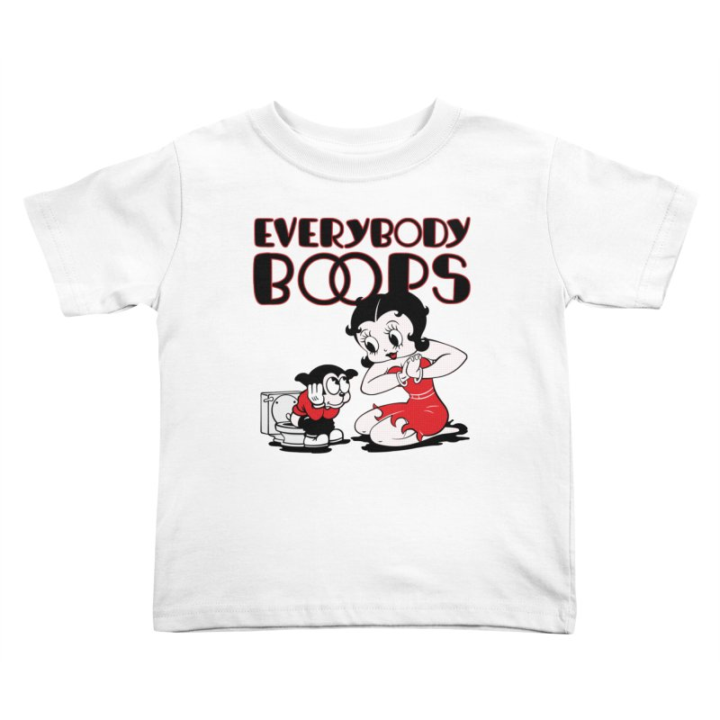 Everybody Boops 1 Kids Toddler T-Shirt by dgeph's artist shop