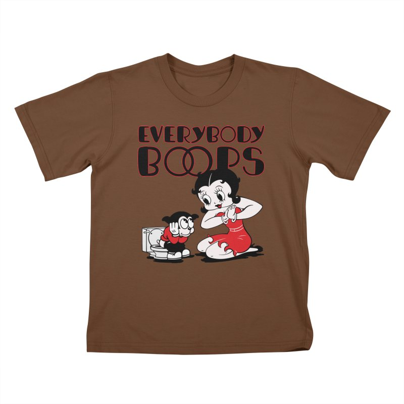 Everybody Boops 1 Kids T-Shirt by dgeph's artist shop