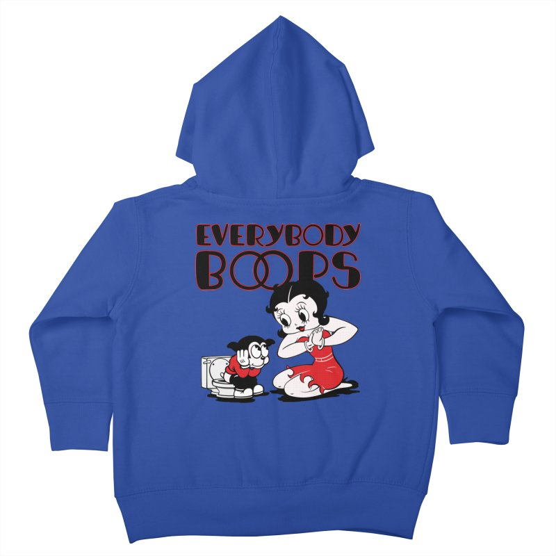 Everybody Boops 1 Kids Toddler Zip-Up Hoody by dgeph's artist shop