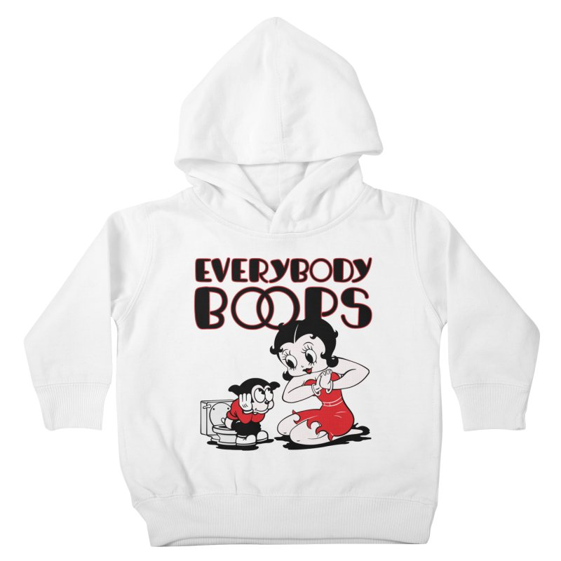 Everybody Boops 1 Kids Toddler Pullover Hoody by dgeph's artist shop