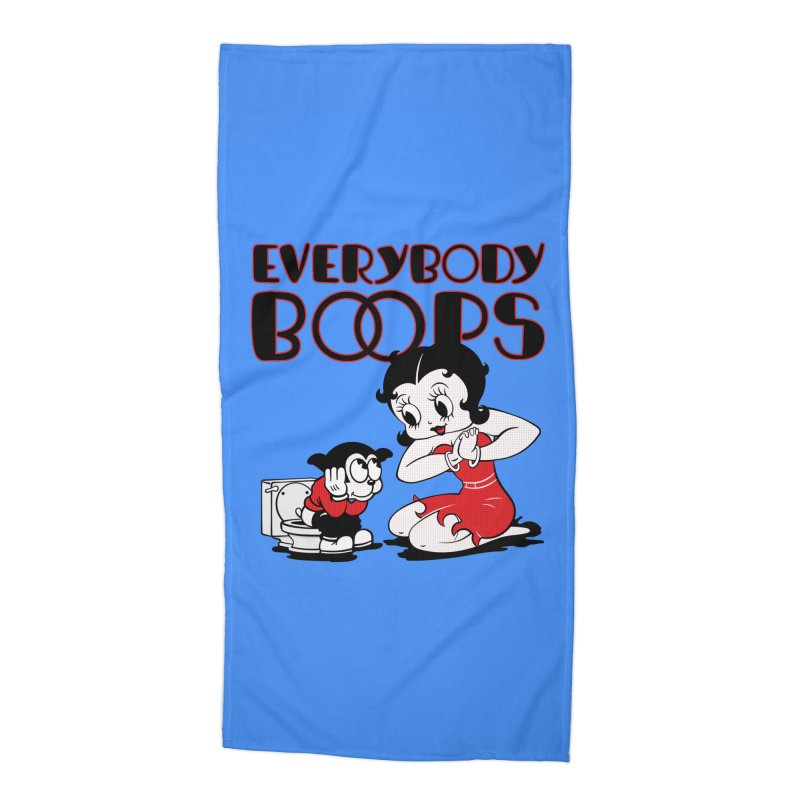 Everybody Boops 1 Accessories Beach Towel by dgeph's artist shop