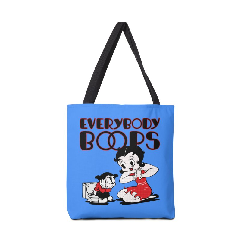 Everybody Boops 1 Accessories Bag by dgeph's artist shop