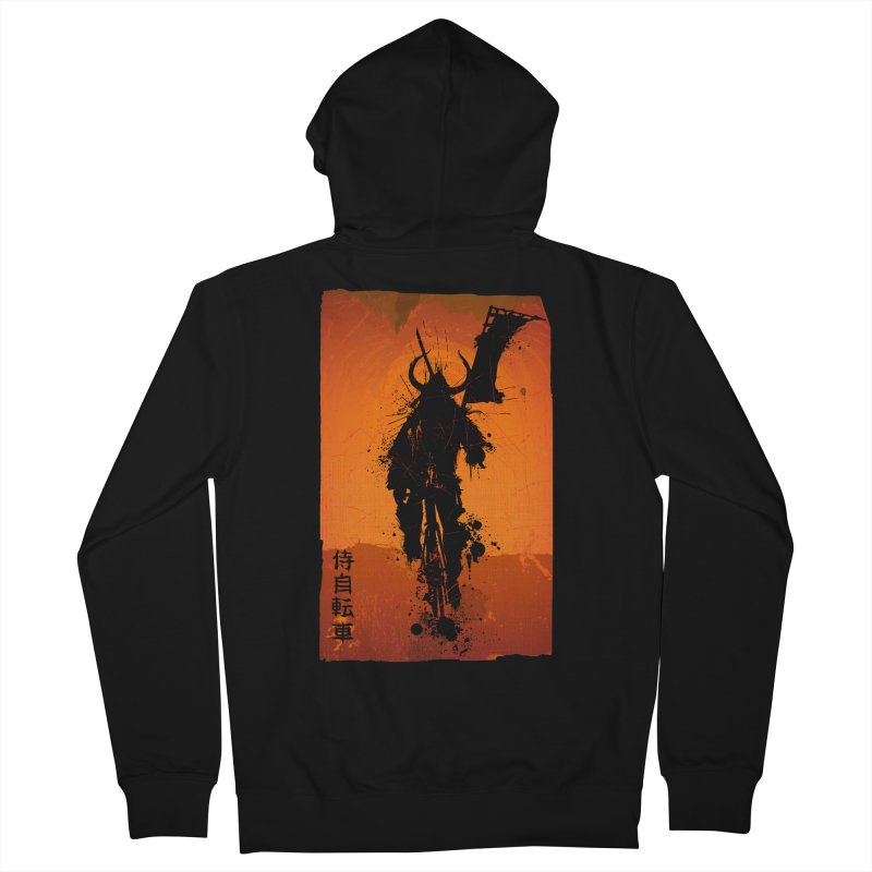 Bike Samurai Women's Zip-Up Hoody by dgeph's artist shop