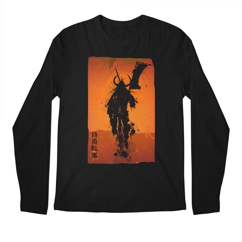 Bike Samurai Men's Longsleeve T-Shirt by dgeph's artist shop