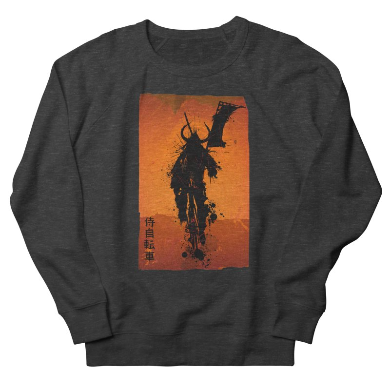Bike Samurai Men's Sweatshirt by dgeph's artist shop