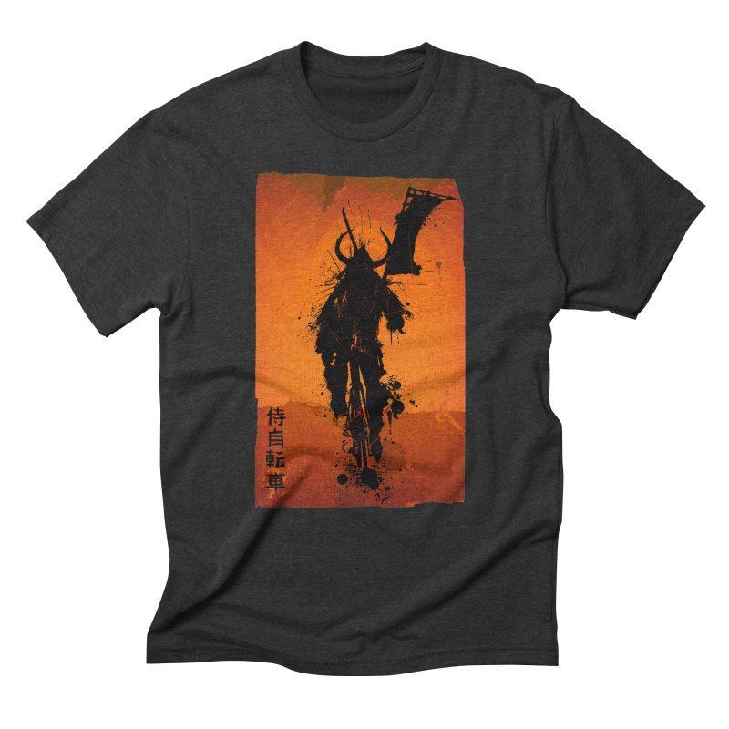 Bike Samurai Men's Triblend T-shirt by dgeph's artist shop