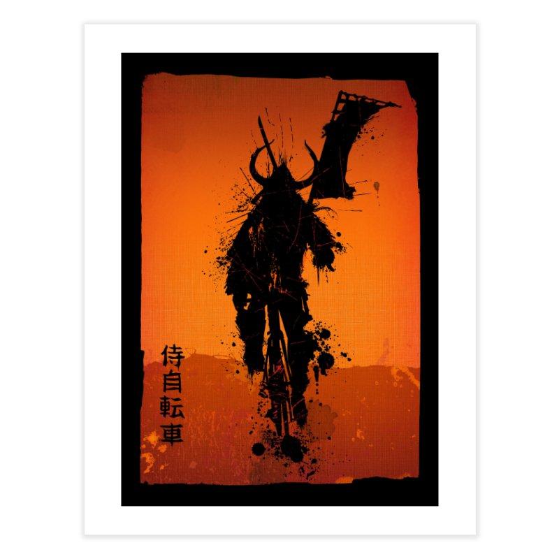 Bike Samurai Home Fine Art Print by dgeph's artist shop