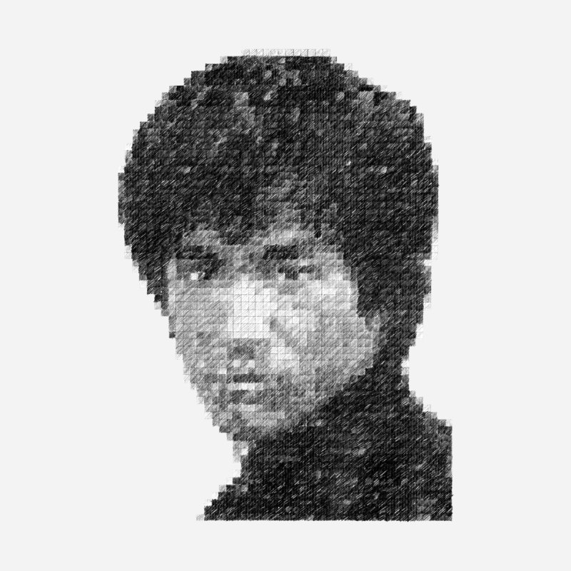 Bruce Lee (Positive Image) by dgeph's artist shop