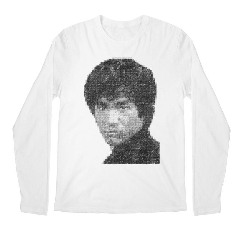 Bruce Lee (Positive Image) Men's Longsleeve T-Shirt by dgeph's artist shop